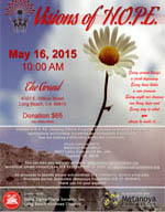 Visions of H.O.P.E. Awards Program - May 16, 2015