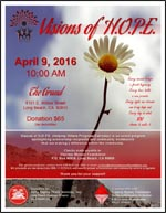Visions of HOPE - April 9, 2016