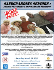 Safeguarding Seniors: A Fraud Prevention & Empowerment Workshop - Saturday, March 25, 2017